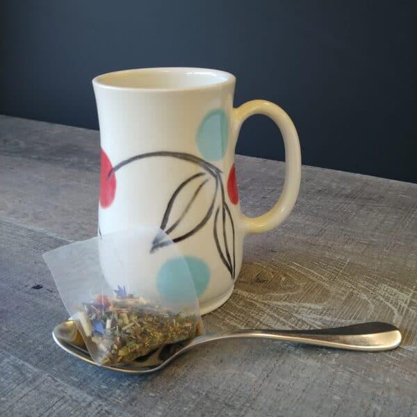 Dotty mug for your coffee or tea