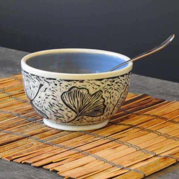Gingko Bowl for your cereal or favorite dessert