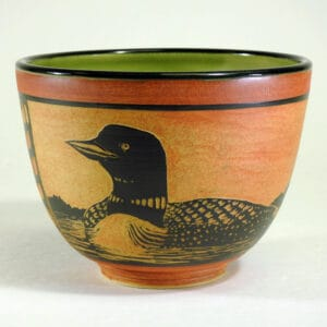 Handmade pottery bowl for serving your favorite dish