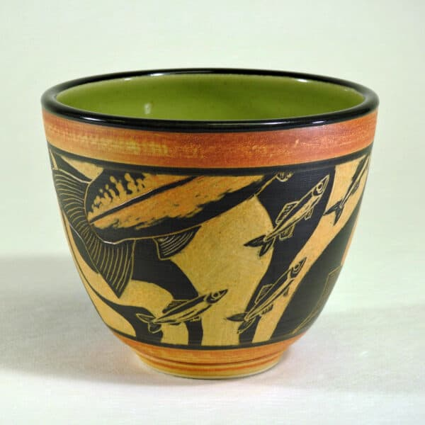 pottery bowl for food service
