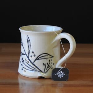 handmade pottery mugs for your favorite hot or cold beverage