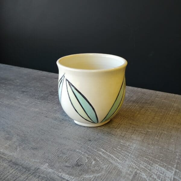 Leaf cup for tea, coffee or whiskey!