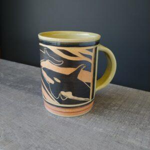 Orca Mug for coffee or tea