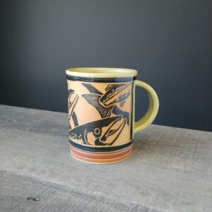 Salmon Mug for your coffee or tea