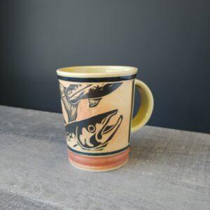 Salmon Mug for coffee or tea