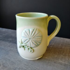 Sand dollar coffee or tea mug